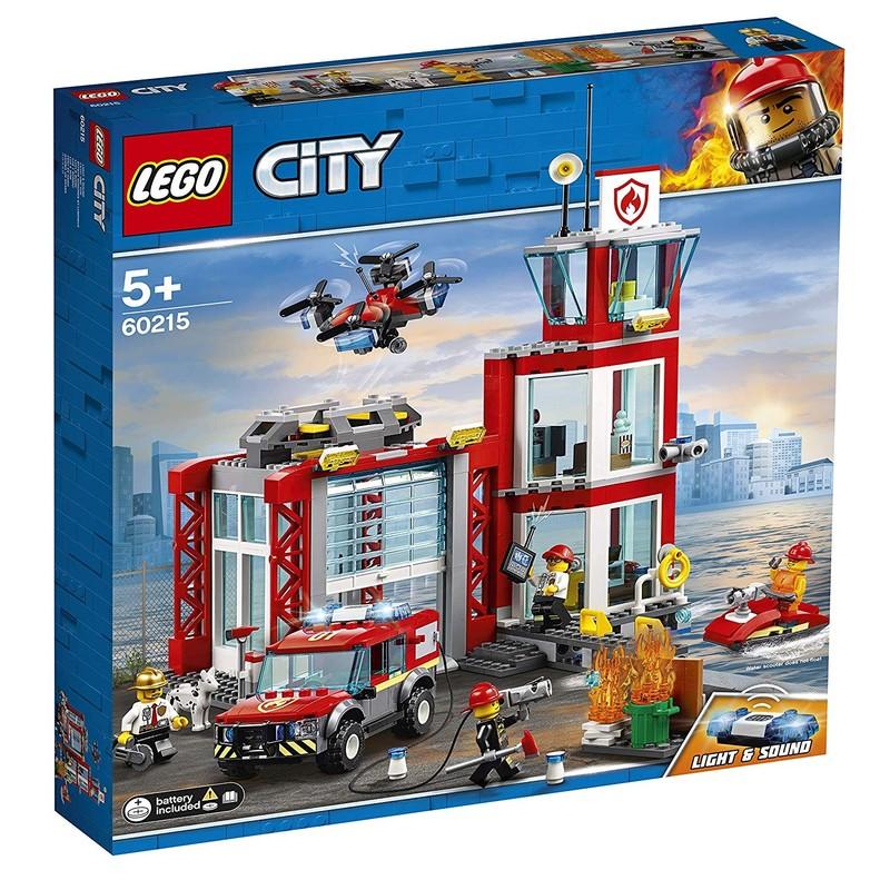 LEGO - City 60215 Hasičská stanice