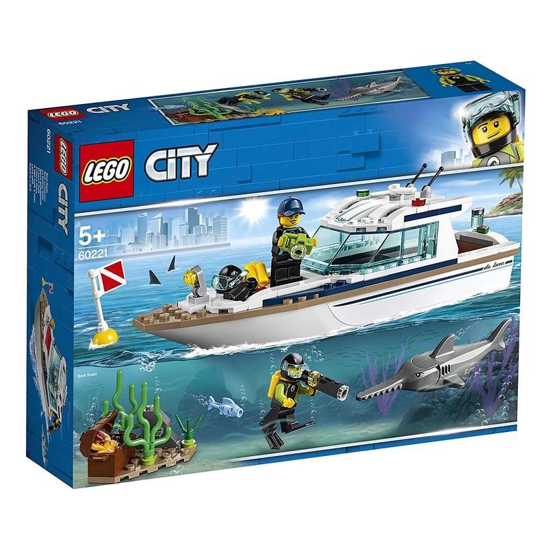 LEGO - City 60221 Potápěčská jachta