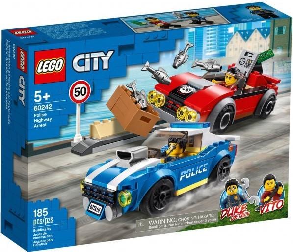 LEGO - City 60242 Policejní honička na dálnici