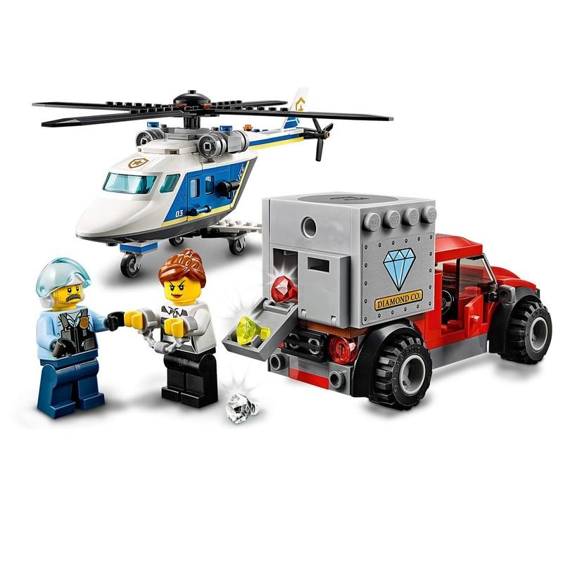 LEGO - City 60243 Pronásledování policejní helikoptérou