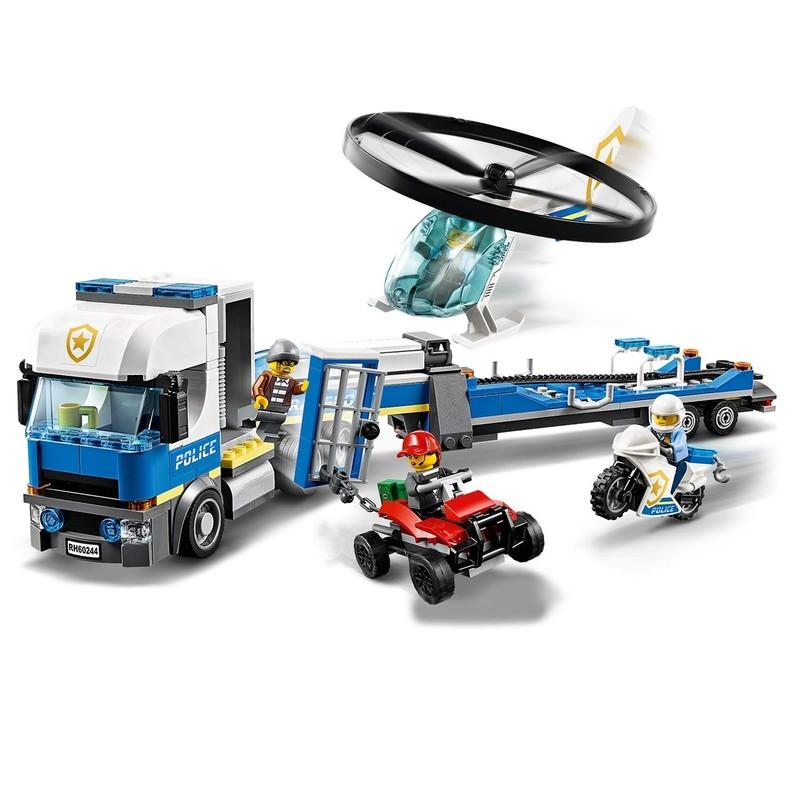 LEGO - City 60244 Přeprava policejní helikoptéry