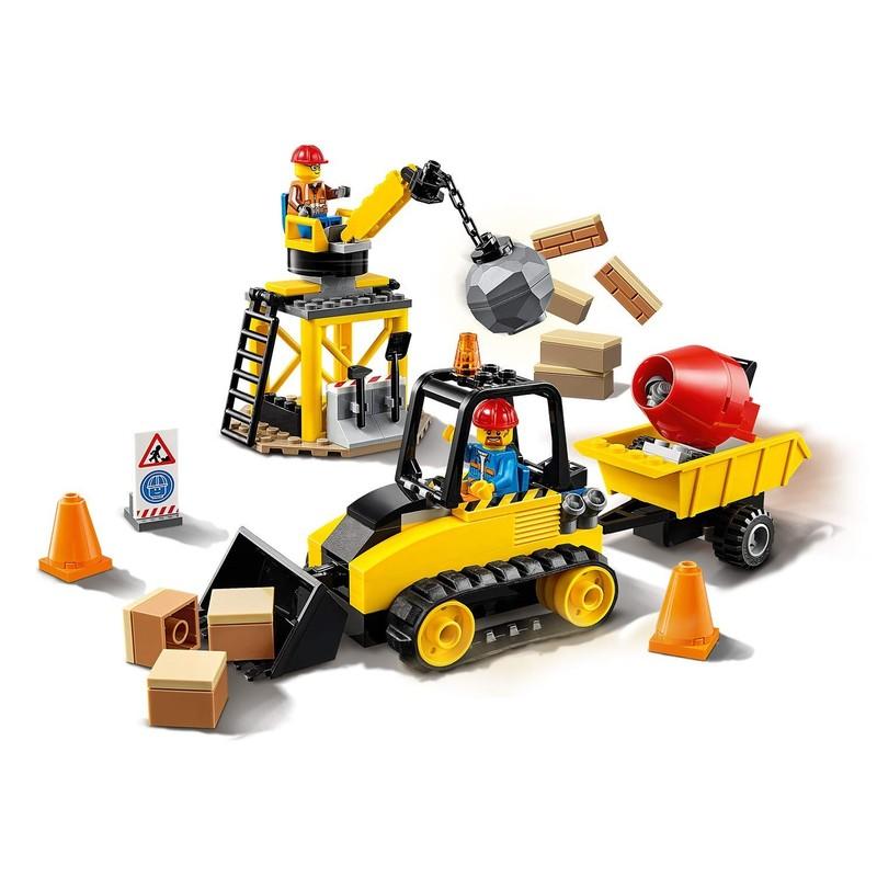 LEGO - City 60252 Buldozer na stavbě