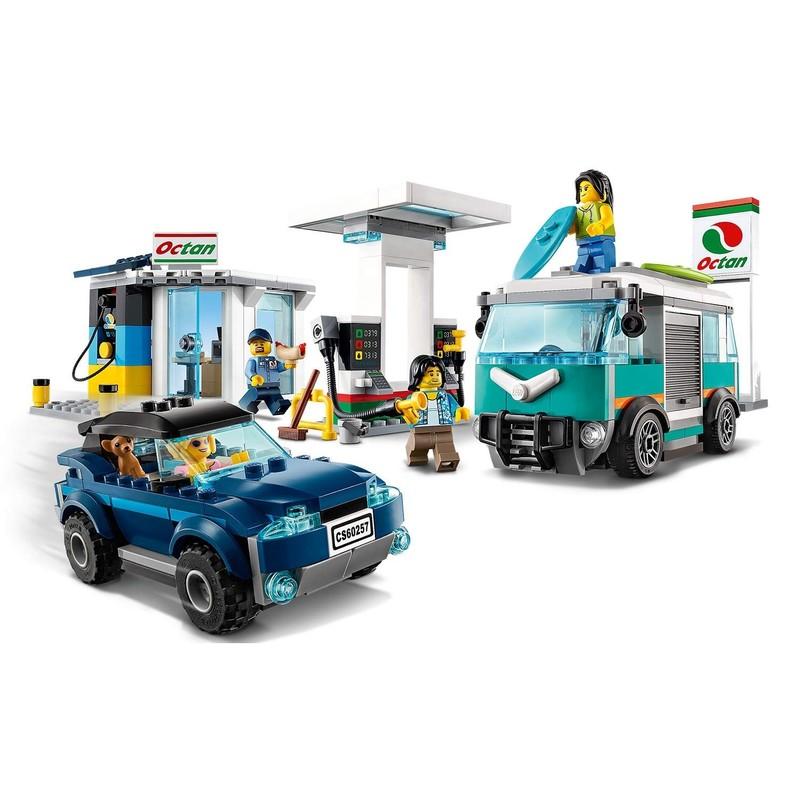LEGO - City 60257 Benzínová stanice