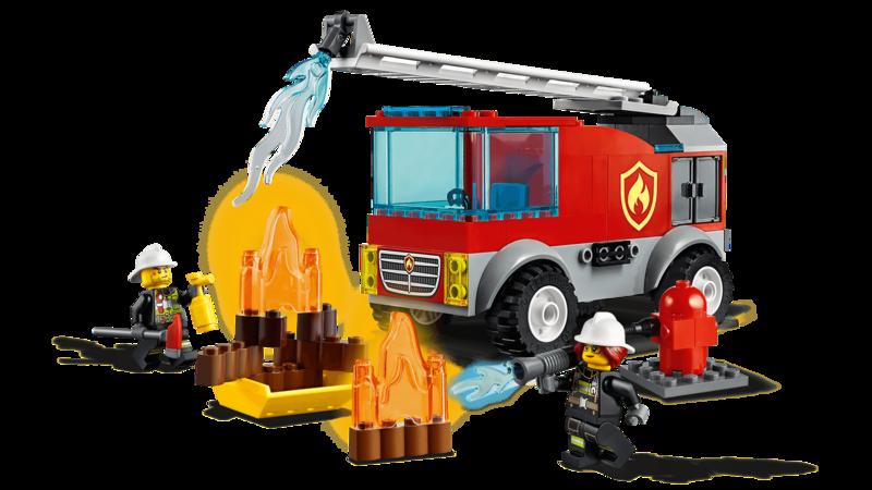 LEGO - City 60280 Hasičský vůz s žebříkem