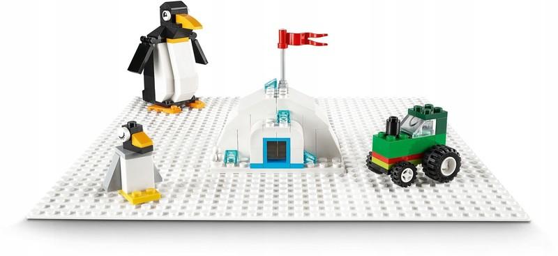 LEGO - Classic 11010 Bílá podložka na stavění