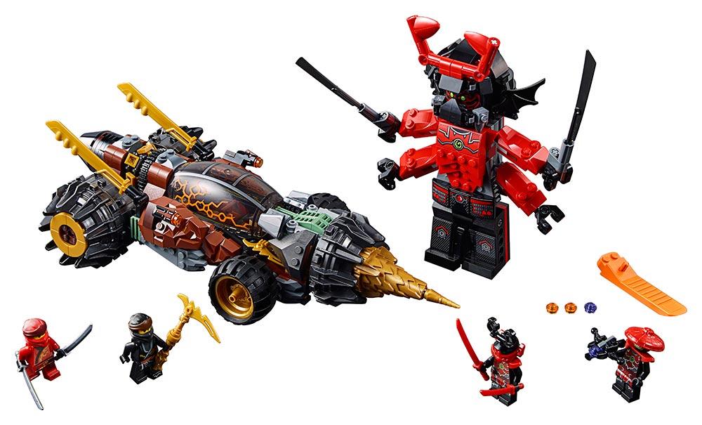 LEGO - Coleův Razicí Vrták