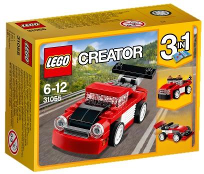 LEGO - Creator 31055 Červené závodní auto