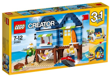 LEGO - Creator 31063 Dovolená na pláži