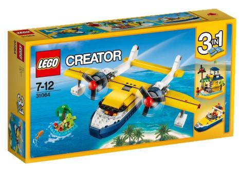 LEGO - Creator 31064 Dobrodružství na ostrově