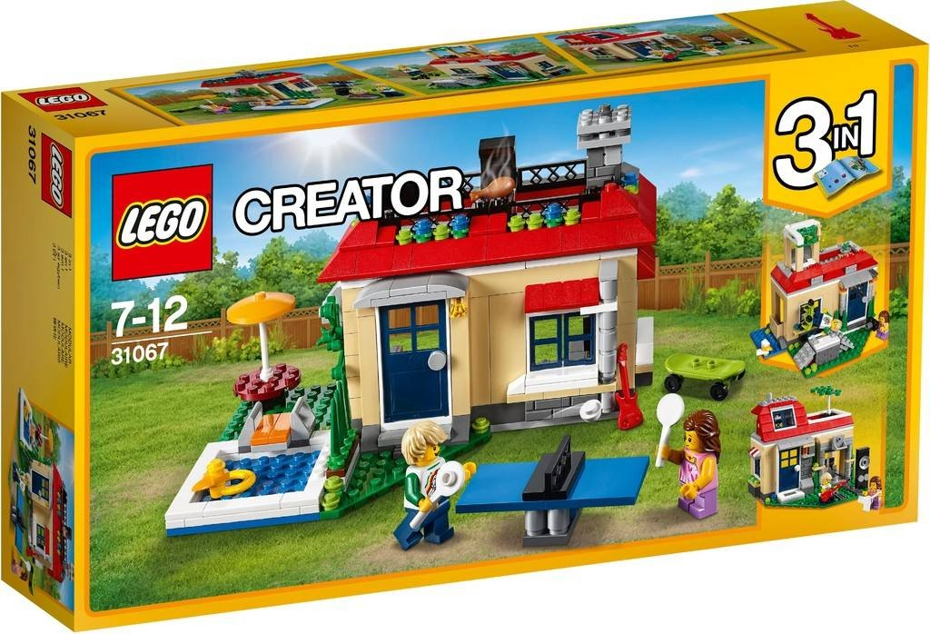 LEGO - Creator 31067 Prázdniny u bazénu