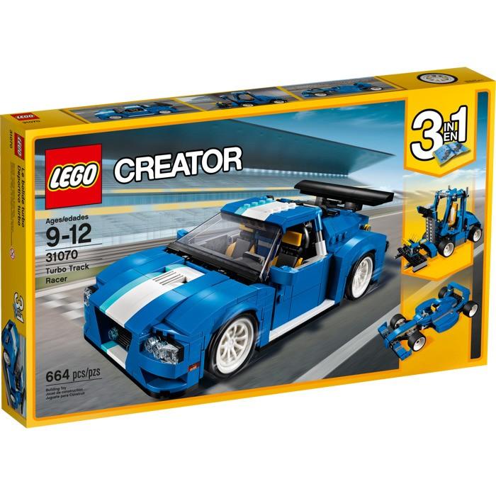 LEGO - Creator 31070 Turbo závodní auto