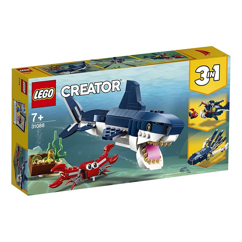LEGO - Creator 31088 Hlubinné stvoření