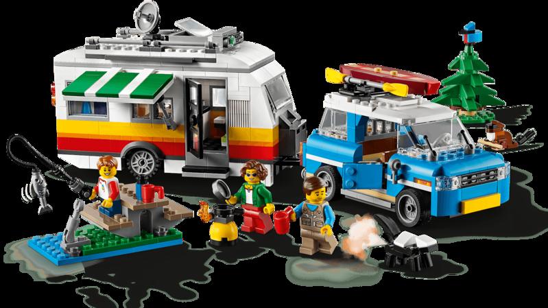 LEGO - Creator 31108 Rodinná dovolená v karavanu