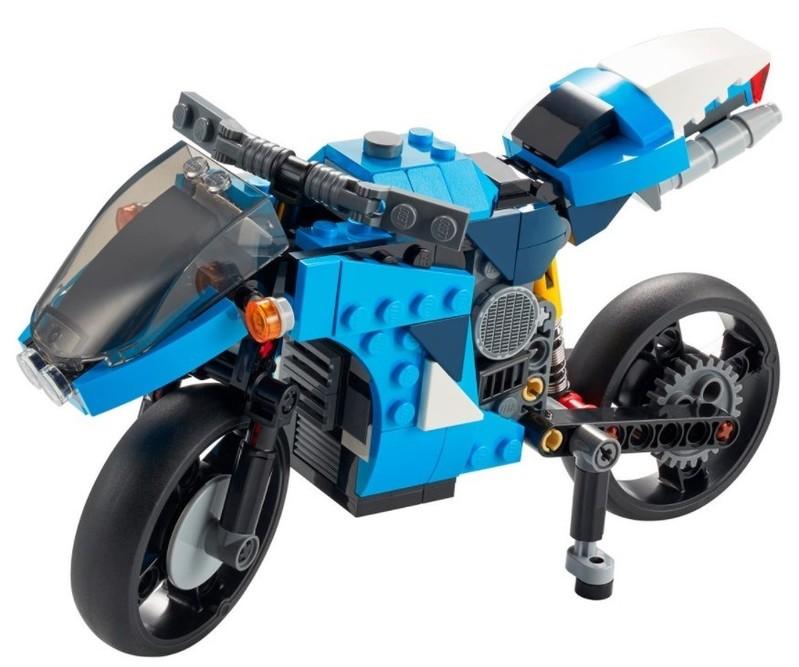 LEGO - Creator 31114 supermotorkách