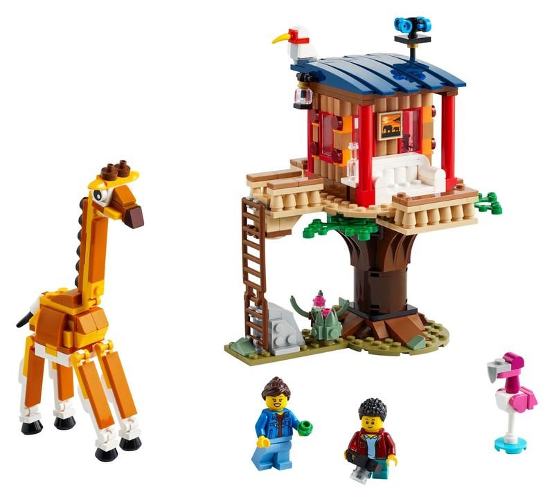 LEGO - Creator 31116 Safari domeček na stromě