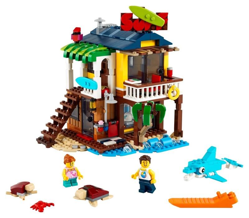 LEGO - Creator 31118 Surfařský dům na pláži