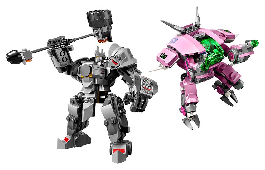 LEGO - D.Va A Reinhardt