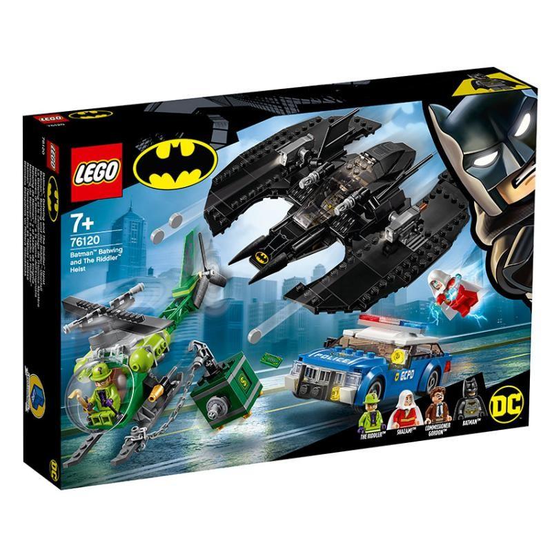 LEGO - DC Comics Batman 76120 Batmanových letadlo a Hádankárova krádež