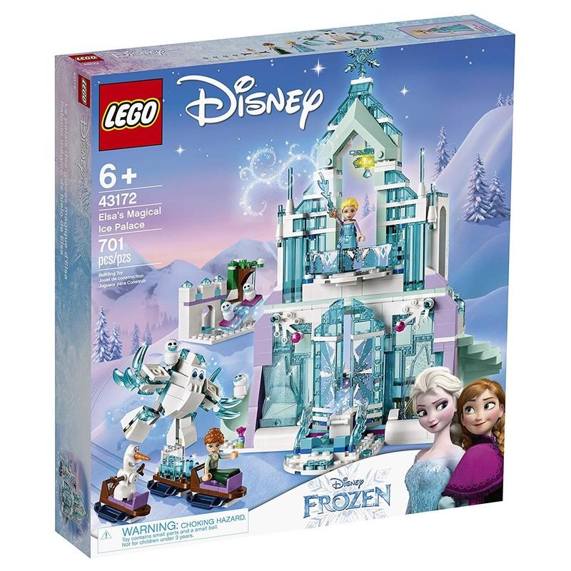 LEGO - Disney 43172 Elsa a její kouzelný ledový palác
