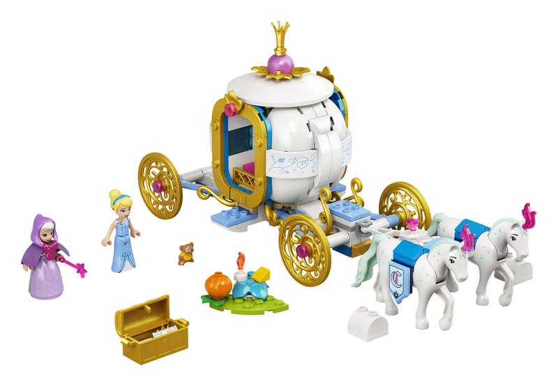 LEGO - Disney 43192 Popelka a královský kočár