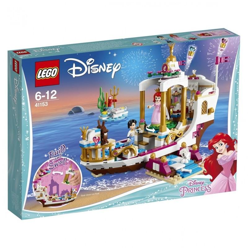 LEGO - Disney Princess 41153 Arielin královský člun na oslavy