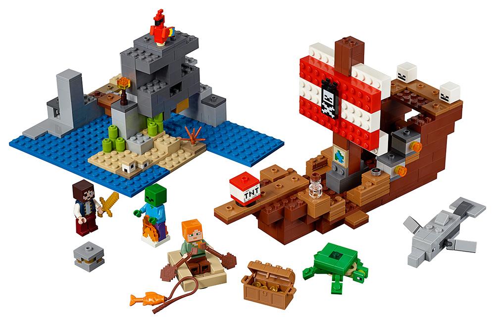 LEGO - Dobrodružství Pirátské Lodi