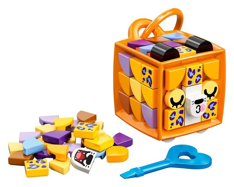 LEGO - DOTS 41929 Ozdoba na tašku - leopard
