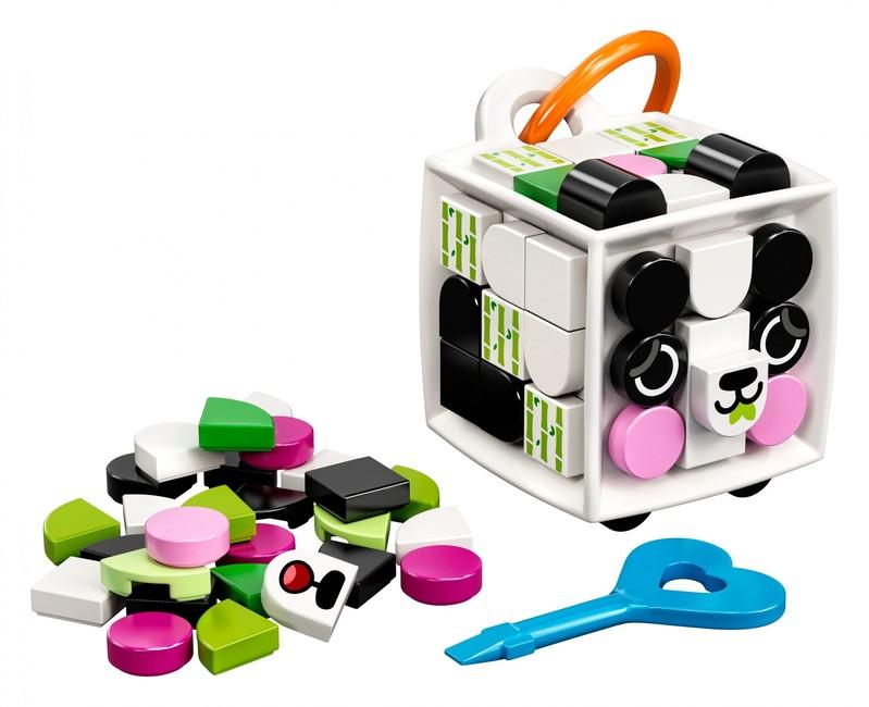 LEGO - DOTS 41930 Ozdoba na tašku - panda