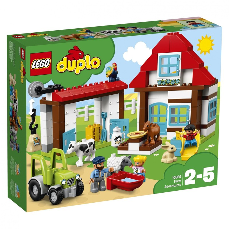 LEGO - DUPLO 10869 Dobrodružství na farmě