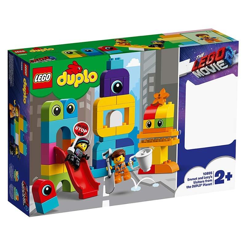 LEGO - DUPLO 10895 Emmet, Lucy a návštěvníci z planety DUPLO