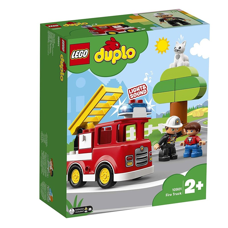 LEGO - DUPLO 10901 Hasičské auto