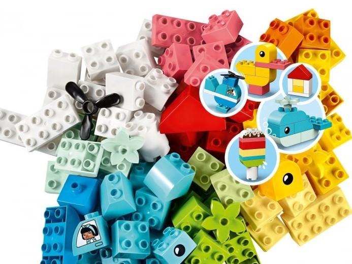 LEGO - DUPLO 10909 Box se srdíčkem