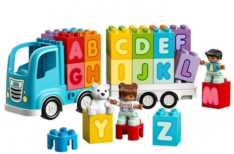 LEGO - DUPLO 10915 Moje první Náklaďák s abecedou