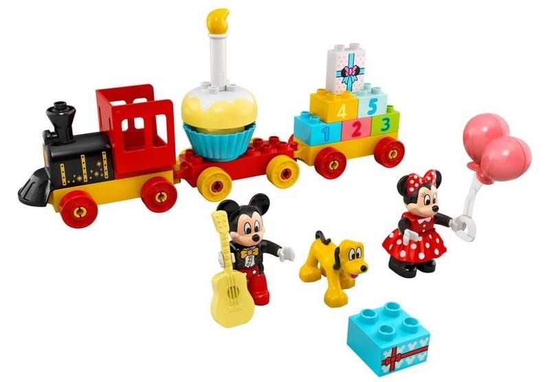 LEGO - DUPLO 10941 Narozeninový vláček Mickeyho a Minnie