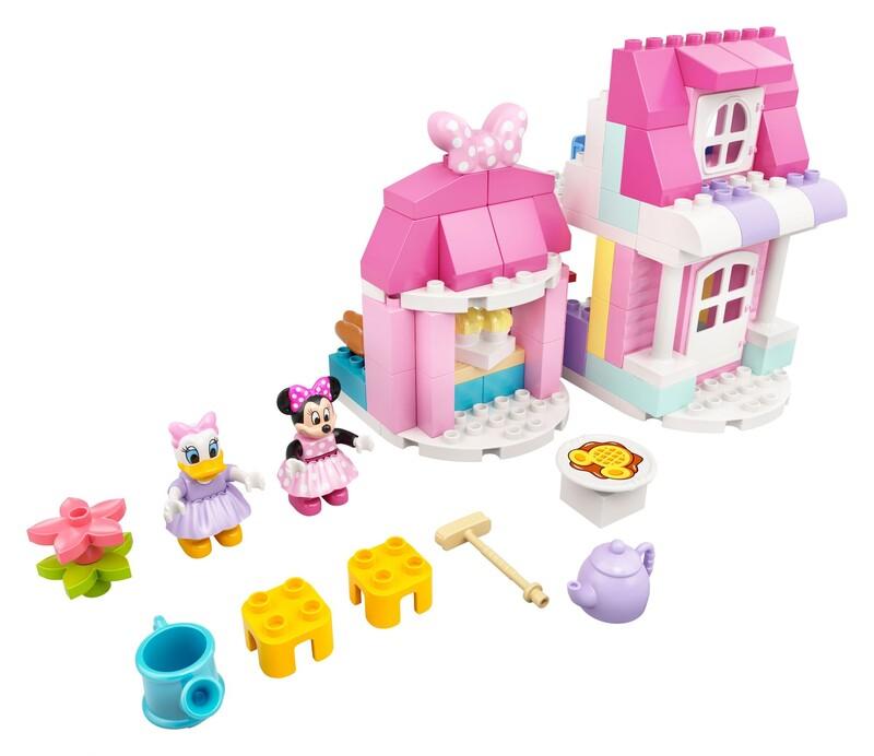 LEGO - DUPLO® 10942 Disney Minnie a její domek s kavárnou
