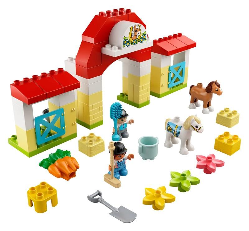 LEGO - Duplo 10951 Stáj s poníky