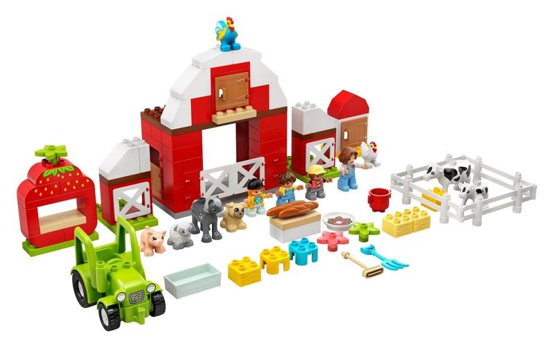 LEGO - Duplo 10952 Stodola, traktor a zvířátka z farmy
