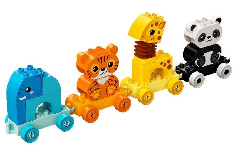 LEGO - DUPLO 10955 Vláček se zvířátky