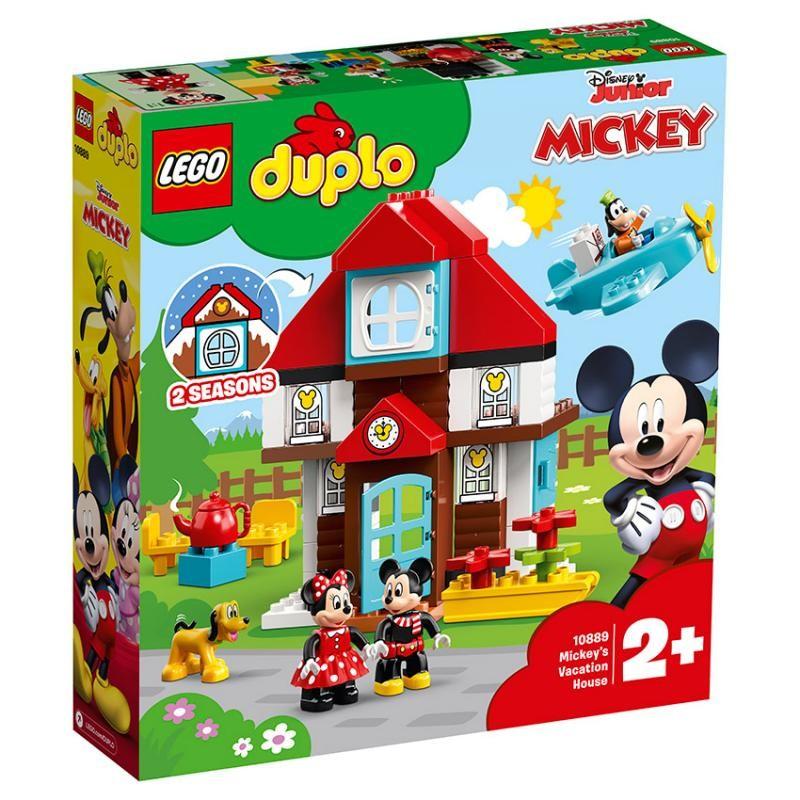 LEGO - DUPLO® Disney 10889 Mickeyho prázdninový dům