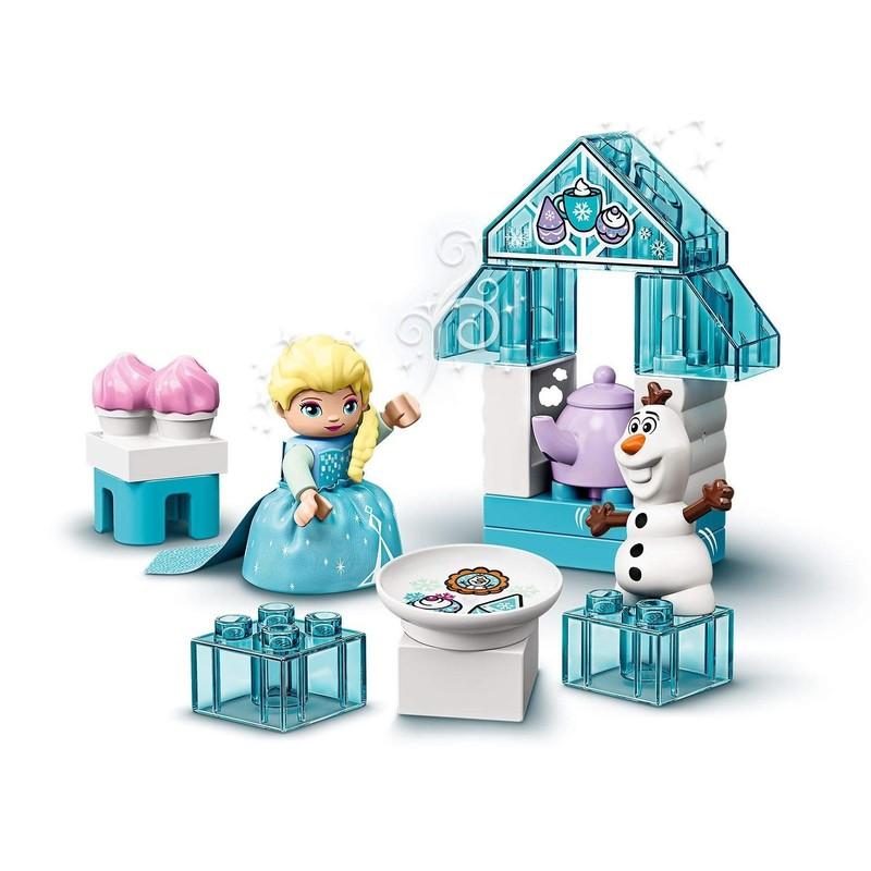 LEGO - DUPLO Princess TM 10920 Čajový večírek Elsy a Olafa