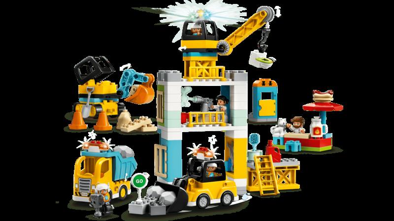 LEGO - DUPLO®10933 Stavba s věžovým jeřábem