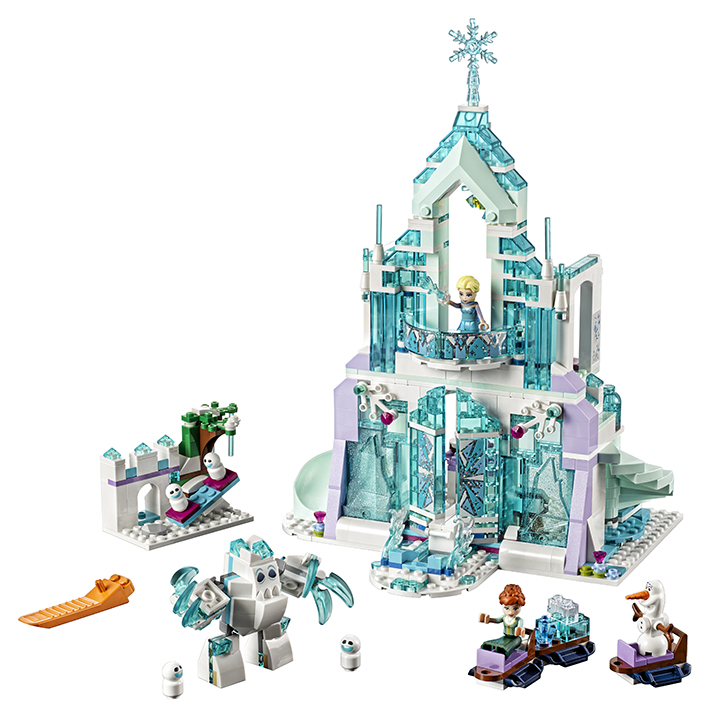 LEGO - Elsa A Její Kouzelný Ledový Palác