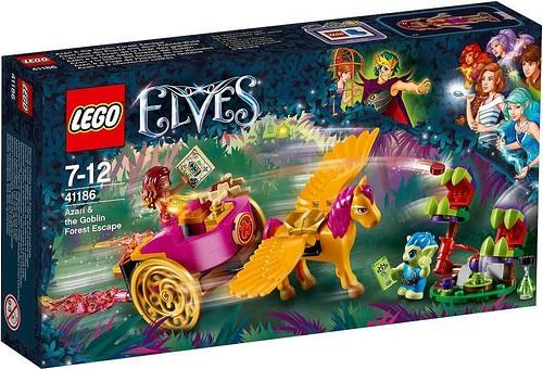 LEGO - Elves 41186 Azari a útěk z Lesa skřítků