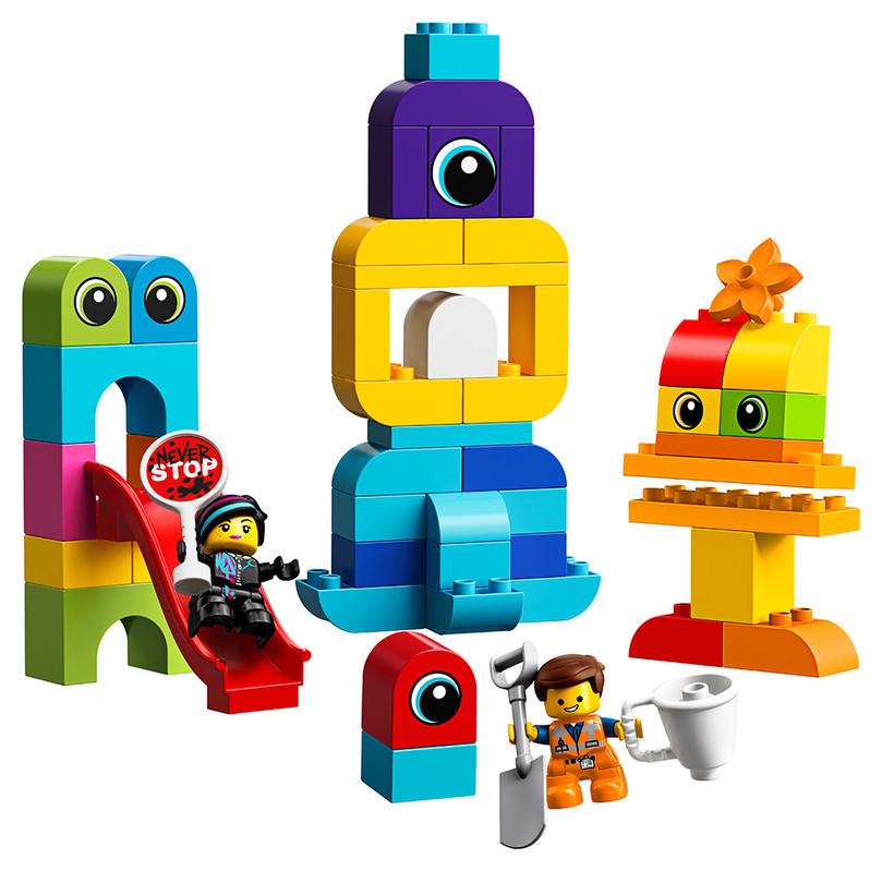 LEGO - Emmet, Lucy A Návštěvníci Z Duplo Planety