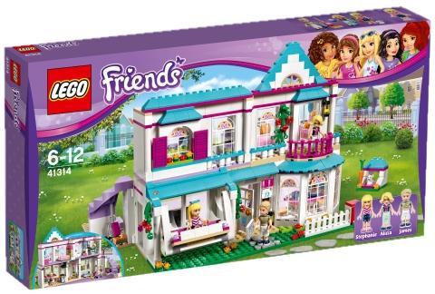 LEGO - Friends 41314 Stephanie a její dům