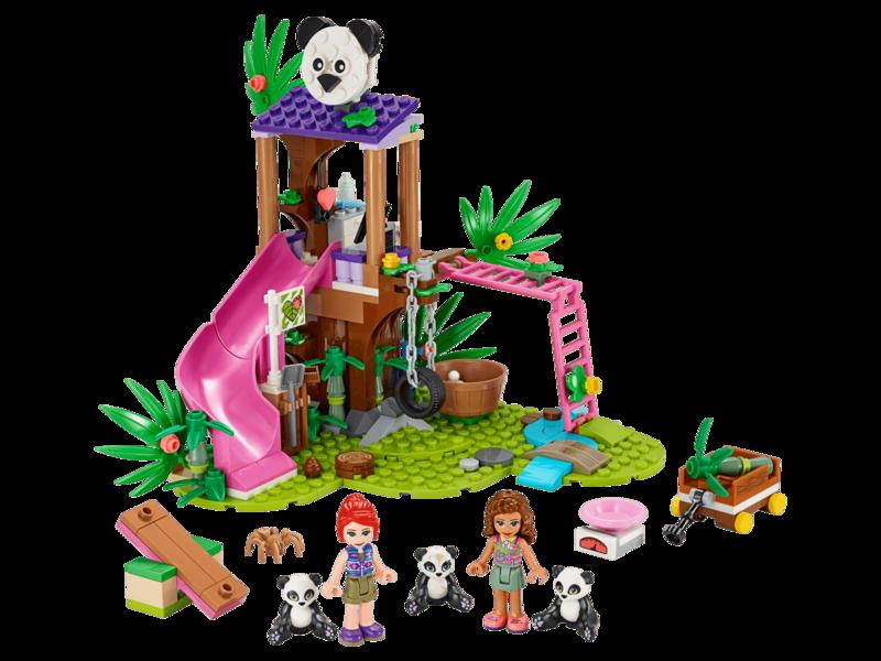 LEGO - Friends 41422 Panda domek na stromě v džungli