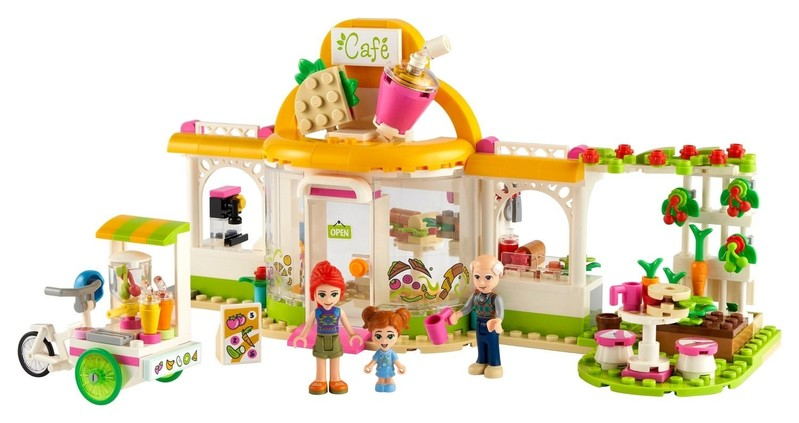 LEGO - Friends 41444 Bio kavárna v městečku Heartlake