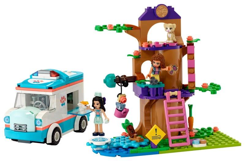 LEGO - Friends 41445 Veterinární sanitka