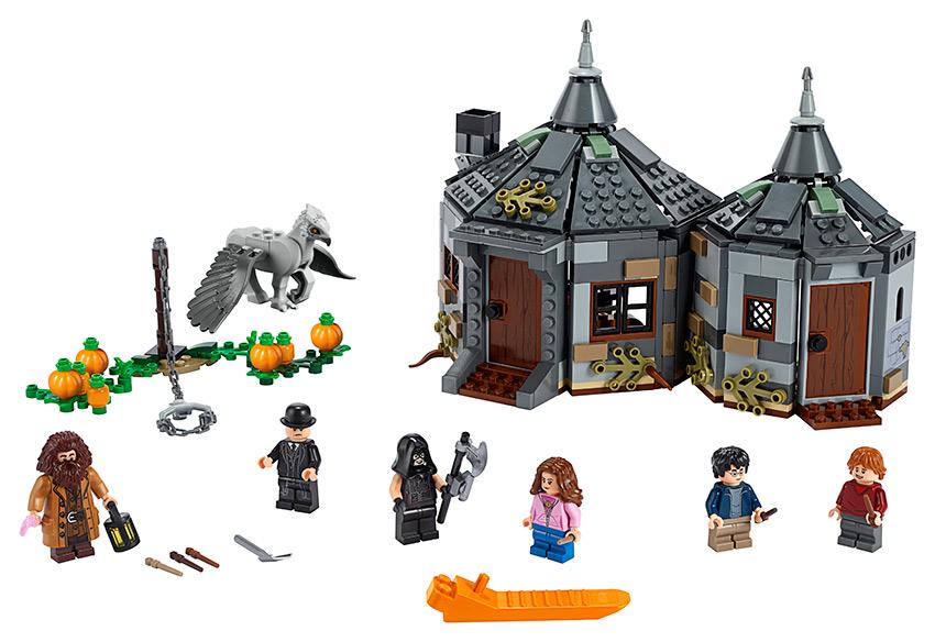 LEGO - Hagridova Bouda: Záchrana Klofana