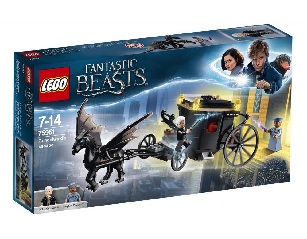 LEGO - Harry Potter 75951 Grindelwalduv útěk